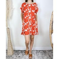 A-Line Embroidered Swing Dress - More Colors