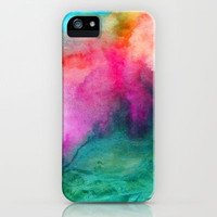 Staring at the Ceiling iPhone Case by Jacqueline Maldonado