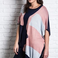 Poncho Short Sleeve Top