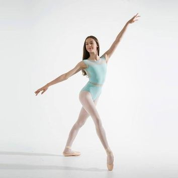Cap Sleeve Leotard MC820W by Capezio