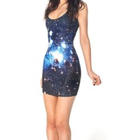 Women GALAXY BLUE DRESSES