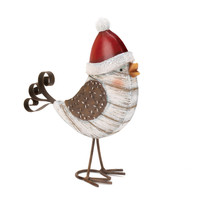 Metal Birdie Holiday Decor