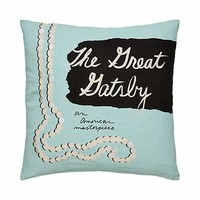 the great gatsby pillow