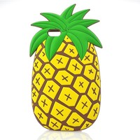 Pineapple Soft Silicone Phone Case