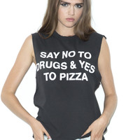 No To Drugs Muscle Tee