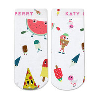 Katy Perry Characters Sublimated Socks