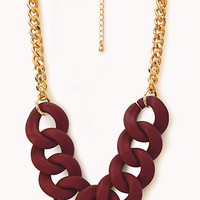 Street-Chic Oversized Chain Necklace