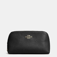Cosmetic Case 17 in Crossgrain Leather