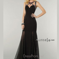Sweetheart Neckline With Cut Outs Formal Prom Gown By Alyce Paris 6413