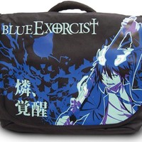 Great Eastern Entertainment Exorcist Rin Messenger Bag with Sword, Blue