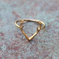 Buck Antler Ring from Tinley Rose Accessories