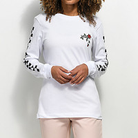 Vans Born To Roam White Long Sleeve T-Shirt | Zumiez