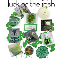 Luck of the Irish from the Etsy group Strategic Promotion for Success Team