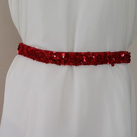 wedding dress with sequins belt, satin wedding belt,red, bridal belt, wedding dress belt,Wing, Long Waist Wedding,free shipping!