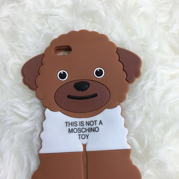 Silicone Case Moschino Ready To Bear For iPhone 6/6 Plus