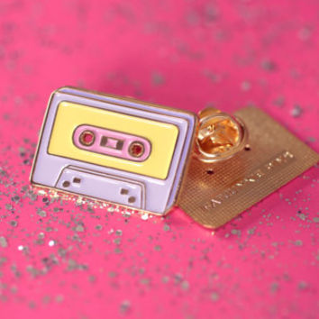Enamel Pin / Lapel Pin - Deluxe Mixtape