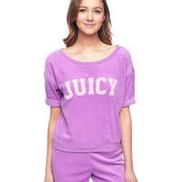 Cozy Terry Pullover by Juicy Couture