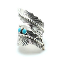 Feather Navajo Ring