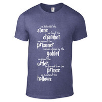 Harry Potter Inspired Clothing - Harry Potter Generation Heathered Crew Neck - Mens
