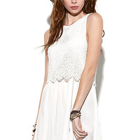Some Days Lovin The Message Lace Dress at PacSun.com