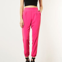 Relaxed Cupro Joggers - Pants  - Clothing