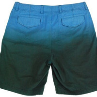 Nautica Men's Plain-Front Double Navy Dipped Shorts