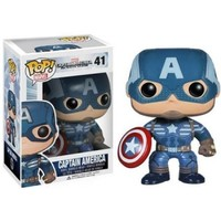 Captain America Winter Soldier Pop! Vinyl Figure Captain America : Forbidden Planet