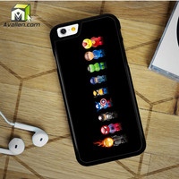 Marvel Avengers Comic Character iPhone 6 Plus Case by Avallen