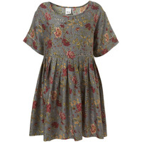 Oversized Floral Dress By TV**