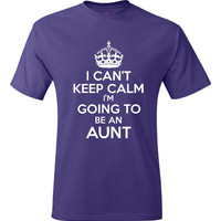 Funny New AUNT T Shirt Gift Ideas Tee For Aunt New Baby Announcement Sister Gift for Aunt Tee Womens men Style