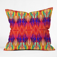 Holly Sharpe Carnival 01 Outdoor Throw Pillow