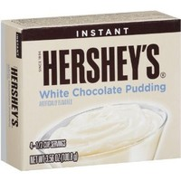 Hershey's White Chocolate Instant Pudding (4 Boxes)