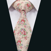 New Arrival Men`s Cotton Tie Fashion Necktie High Quality For Party Wedding Business