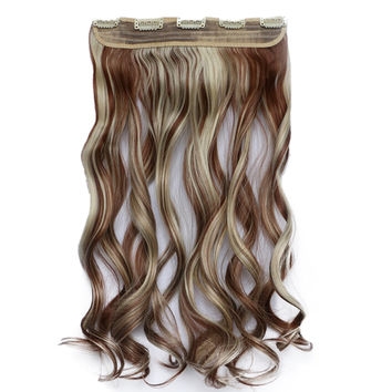120g One Piece 5 Cards Hair Extension Wig     30BH613