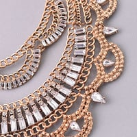 Gypsy Rose Necklace - Gold