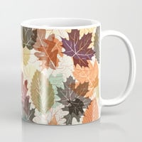 Autumn Leaves 2 Coffee Mug by Fimbis