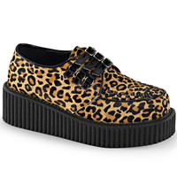 Demonia Leopard Two Inch Creepers