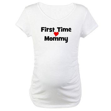 First Time Mommy Shirt on CafePress.com