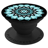 PopSockets: Expanding Stand and Grip for Smartphones and Tablets (Peace Mandala Sky)
