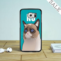 Cactus The Cranky Cat Samsung Galaxy S6 Edge Plus Case