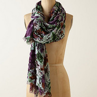 Watercolor Crinkle Scarf