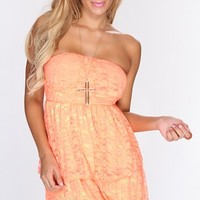 Lime Neon Orange Floral Lace Sexy Dress @ Amiclubwear sexy dresses,sexy dress,prom dress,summer dress,spring dress,prom gowns,teens dresses,sexy party wear,women's cocktail dresses,ball dresses,sun dresses,trendy dresses,sweater dresses,teen clothing,even