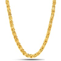 5mm 14K Gold Bike Chain
