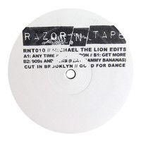 Michael The Lion: Razor N Tape Edits (Sammy Bananas) Vinyl 12""