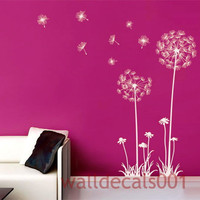 Dandelions Walll Decals Wall stickers Nursery by walldecals001