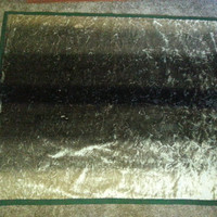 """Vintage Early 1900s Horse Hair Carriage Buggy Motorobe Lap Carriage Blanket 49 1/2"""" x 60"""""""