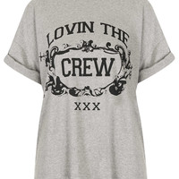 **Chunky Boyfriend T-shirt by Illustrated People - New In This Week - New In - Topshop