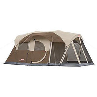 NEW Coleman Weathermaster Screened 6 Person Room Tent Camping Spacious Family
