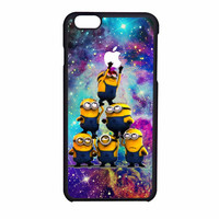 Despicable Me Minions In Galaxy Logo iPhone 6 Case