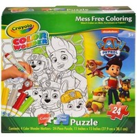 Crayola Color Wonder Paw Patrol Puzzle [24 Pieces] | KimmyShop.com